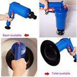 Air Drain Blaster Cannon Compressed Pump Plunger