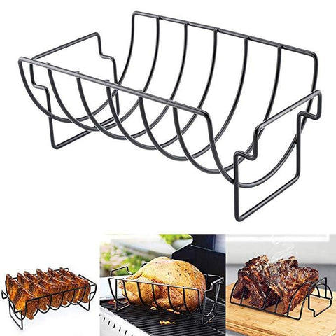 Non-Stick BBQ Roasting Stand Outdoor Grill BBQ Accessories