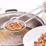 Kitchen Multi-Function  With Clamp Stainless Steel Food Clip Sifter