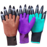 2Pcs Gardening Digging Gloves Planting  Claws Grip Gloves