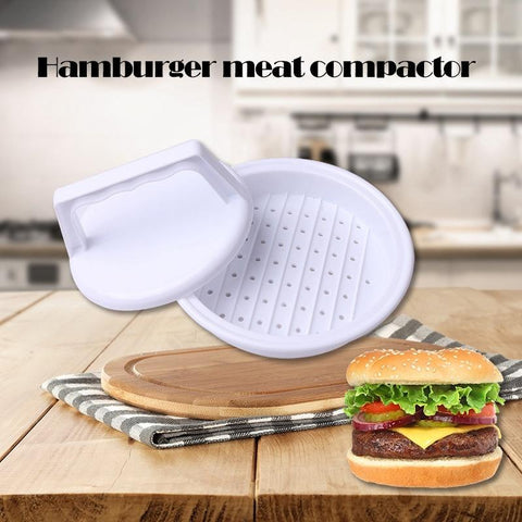 Patty Press Form Hamburger Mold Maker Round Meat Mince BBQ