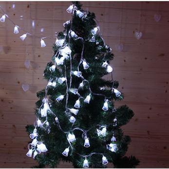 Solar String Lights Campanula Solar Powered Fairy Lights For Xmas Ornaments Party Decor Garden Yard Fence Path Landscape Christmas Decoration