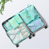7PCS Waterproof Portable Travel Storage Bag