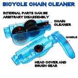 Bicycle Chain Cleaner Chain Cleaning Brush Tool Multi-Purpose for Cycling Bikes Road Bikes Mountain Bikes MTB