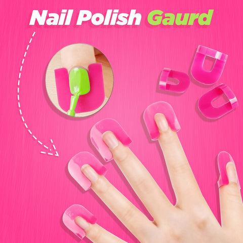 Nail Polish Guard  Art Manicure Stickers For Nails