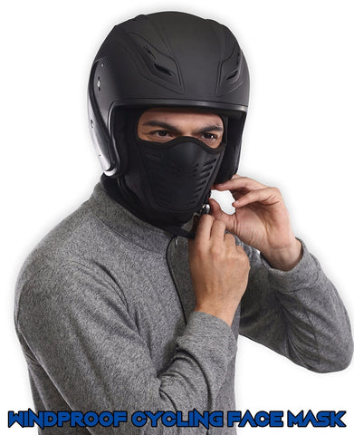 Windproof Face Mask Winter Windproof Fleece Thermal Full Face Motorcycle Ski Mask