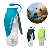 580ml Sport Portable Leaf Pet Dog Water Bottle