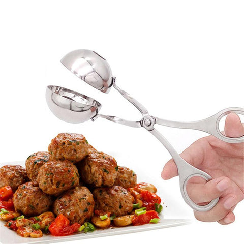 Stainless Steel Meat Baller With Anti-Slip Handles for Kitchen