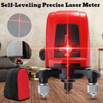 Self-Leveling Precise Laser Meter with High Precision Horizontal And Vertical Cross Line