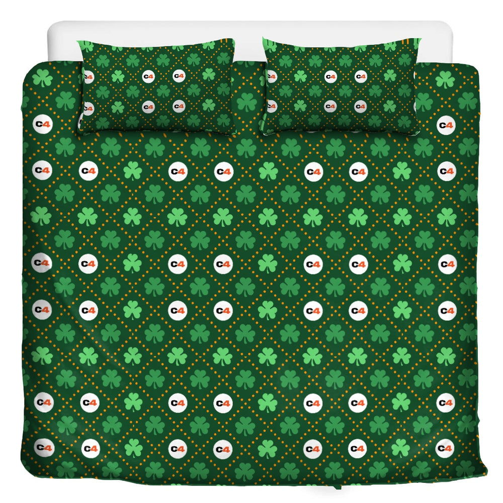 Lucky 3 Pc Bedding- 'Clover'