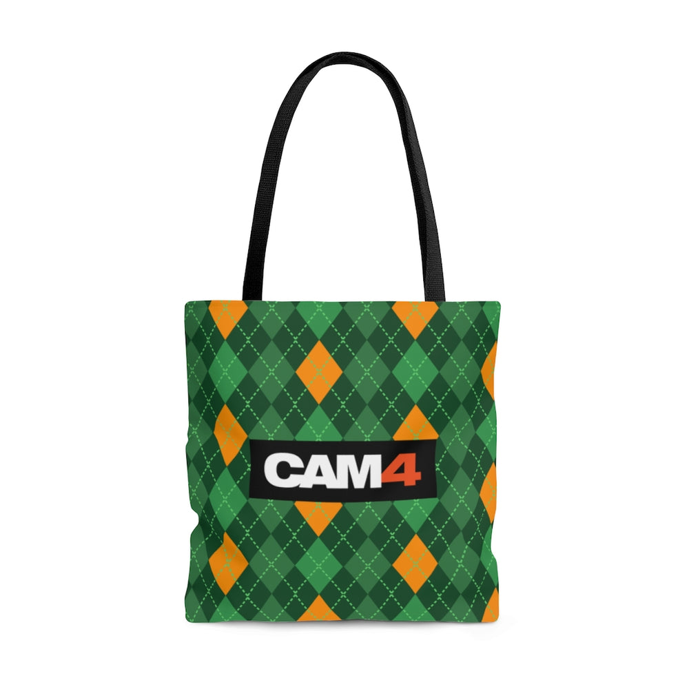 Load image into Gallery viewer, St. Patrick's Day Tote Bag- 'Tartan'
