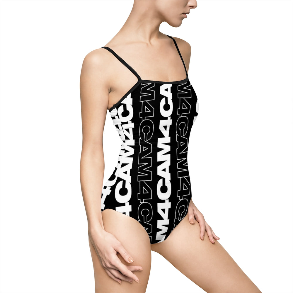 Graphic One-piece Swimsuit