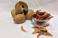 Dried Sapodilla
