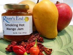 Smoking Hot Mango Jam