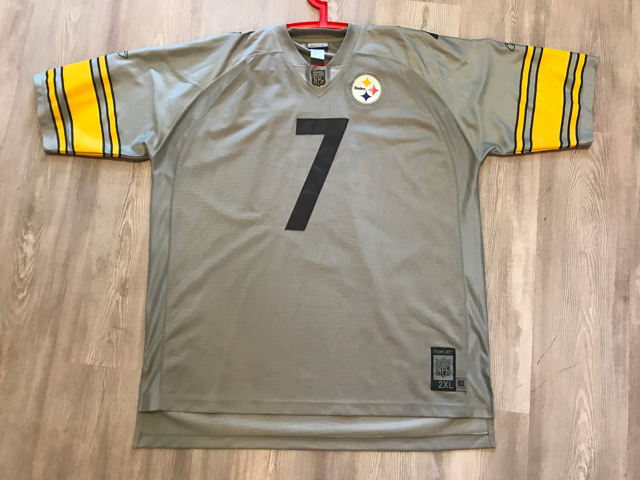 the latest 9cc3e f1093 ROETHLISBERGER Jersey (TRONEL)