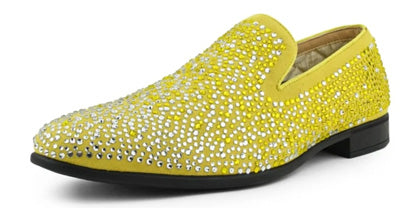 mens yellow shoes