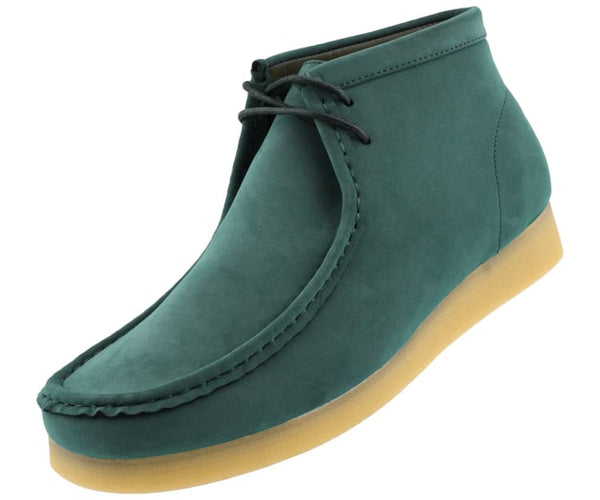 jason2-colorful Amali Boots Green / 7.5