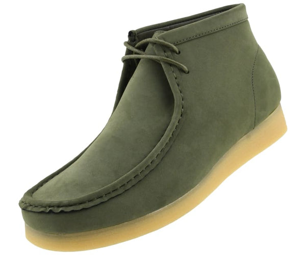 jason2-colorful Amali Boots Olive / 7.5