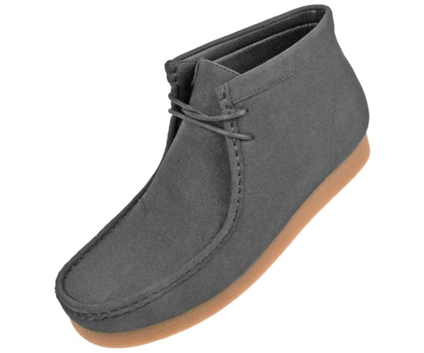 Jason Faux Suede High Top Moc Bootw/ Crepe Like Sole Boots