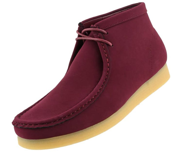 jason2-colorful Amali Boots Burgundy / 7.5