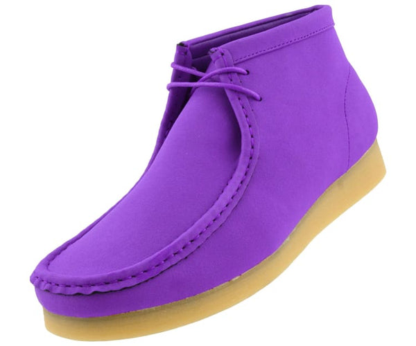 jason2-colorful Amali Boots Purple / 7.5