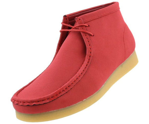 jason2-colorful Amali Boots Red / 7.5