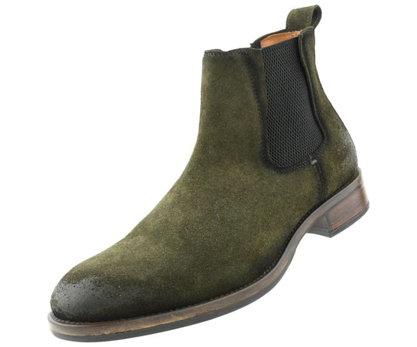 Asher Green Genuine Leather Hand Crafted Lace Up Boots