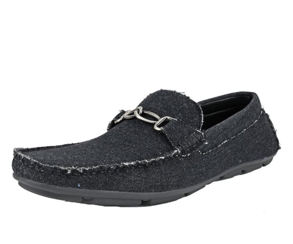 Sanders Mens Embossed Smooth Classic Driver Driving Moccasins