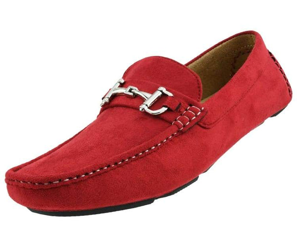walken-red Amali Driving Moccasins Red / 7.5