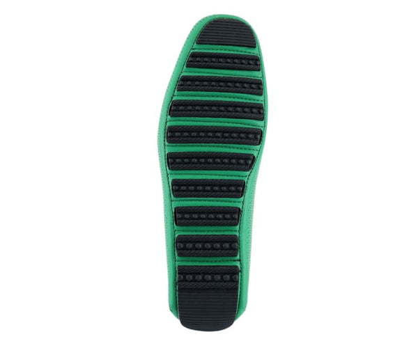 Rila Perforated Patent Driving Moccasin Driving Moccasins White / 10