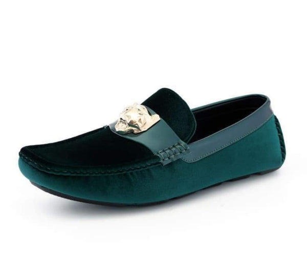 dyer-purple Amali Driving Moccasins Purple / 7.5