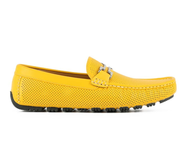 harry-royal-blue Amali Driving Moccasins Royal Blue / 7.5