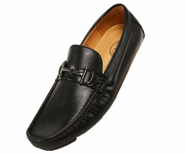 Sonny-Main Pebble Grain Driving Shoe Driving Moccasins