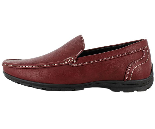 Lloyd Mens Casual Smooth Faux Leather Driving Shoes Driving Moccasins