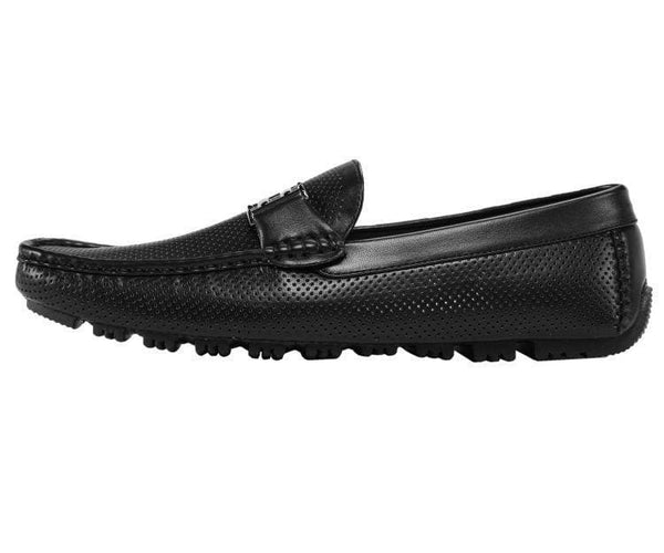 Harry Perforated Colored Smooth Driving Moccasin Driving Moccasins