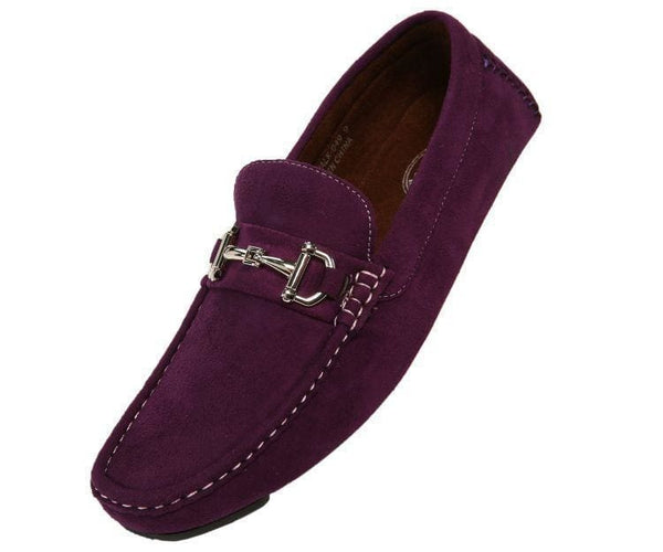 Norwalk Ultrasuede Drive Moccasin Drive Shoes Purple / 10