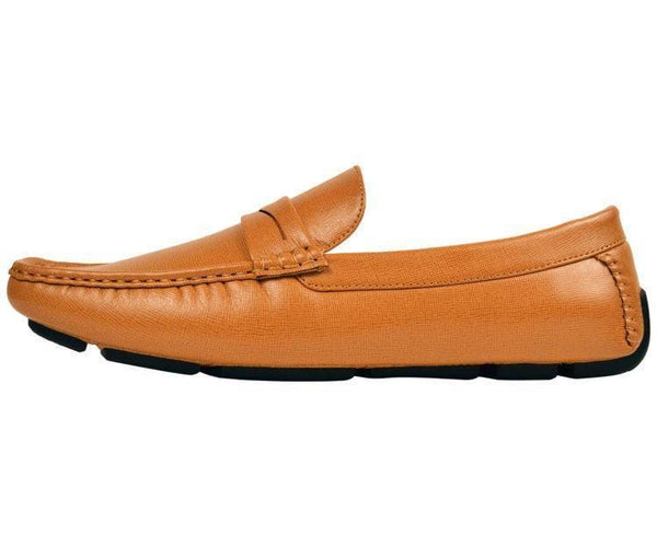 Donner Textured Penny Loafer Driver Driving Moccasins