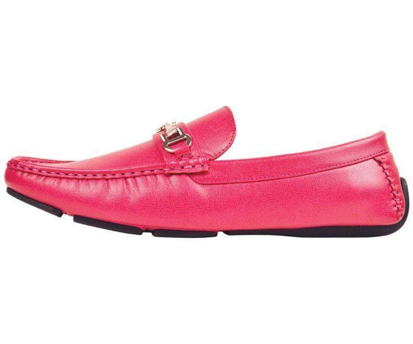 Saffy Textured Smooth Loafer Driving Shoe Driving Moccasins
