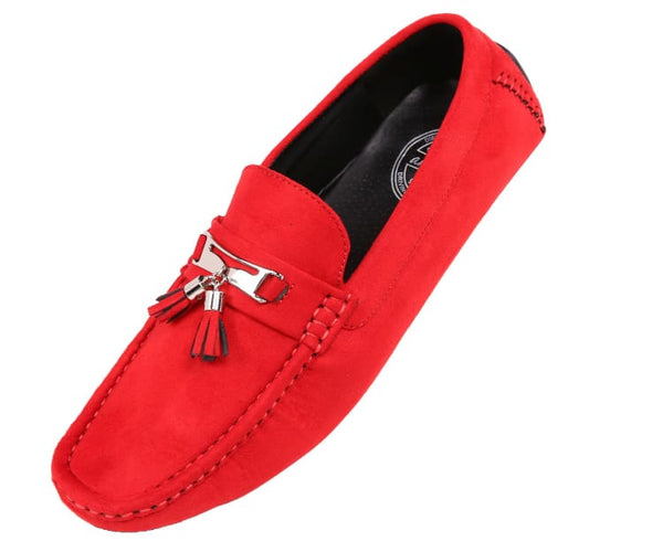 Dyer Amali Driving Moccasins Red / 10