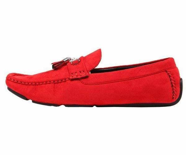 Dyer Tassel Driving Shoe Comfortable Microfiber Driver Casual Moccasin Driving Moccasins