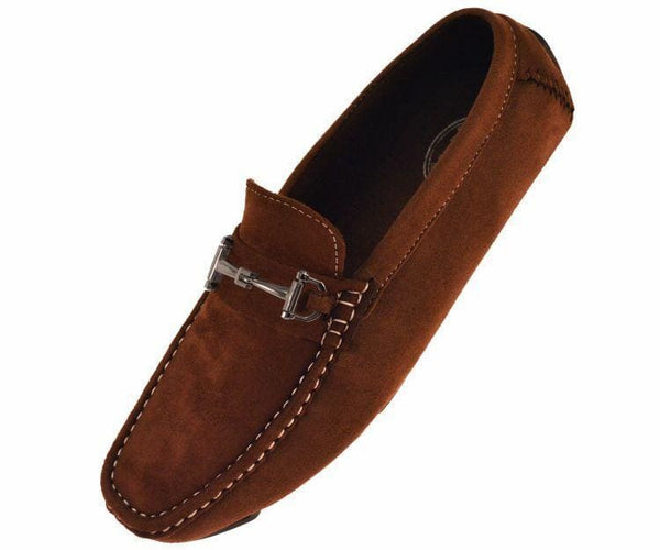 Norwalk Ultrasuede Drive Moccasin Drive Shoes Brown / 10