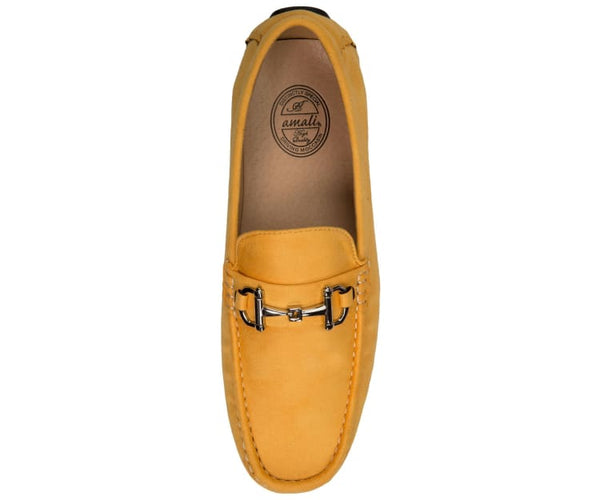Walken Casual Driving Moccasin Loafer Microfiber Driving Moccasins