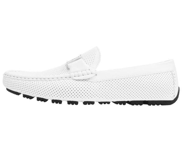Harris Perforated Smooth Driving Shoe Driving Shoes
