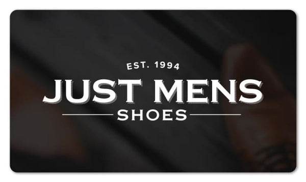 Gift-Card Just Mens Shoes Gift Card $10.00