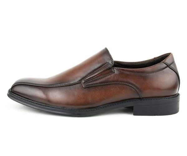 Amali Men's Smooth Slip On with Bike Track Stitching and a Lightweight Outsole Loafer, Dress Shoe Style Jared