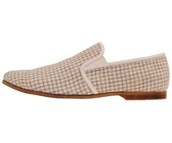 Trap Houndstooth Knit Slip On Dress Loafer Loafer