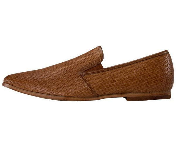 Harmon Business Casual Woven Emboss Loafer Loafers
