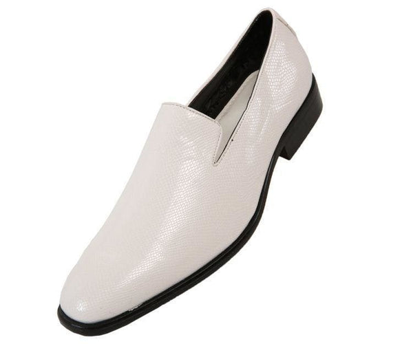 Durant Exotic Slip On Dress Shoe Loafers White / 10