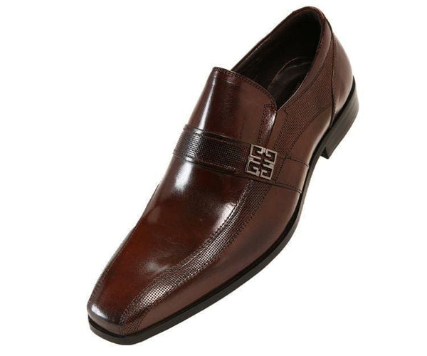 Johnny Genuine Buffalo Calf Leather Slip-On Loafer Brown / 10