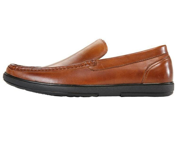 Finlay Genuine Leather Moc-Toe Slip-On Loafer